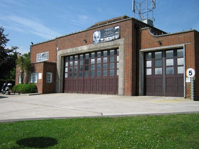 Battle Fire Station Before Installation