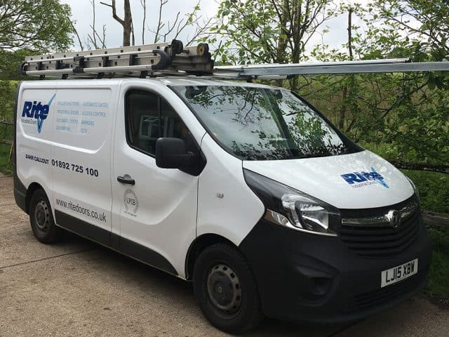 Rite Doors Commercial Van