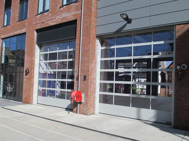 Installation Of Sectional Doors At Rear Of Fire Station