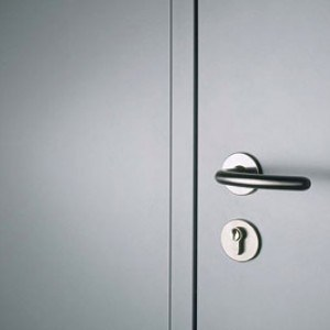 Steel Security Door and Handle
