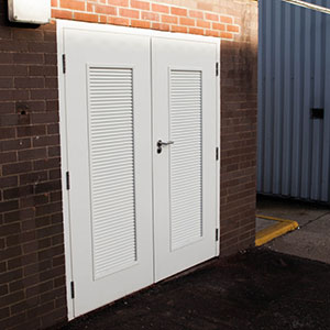 Surrey Fire and Rescue Service Plant Room Steel Doors