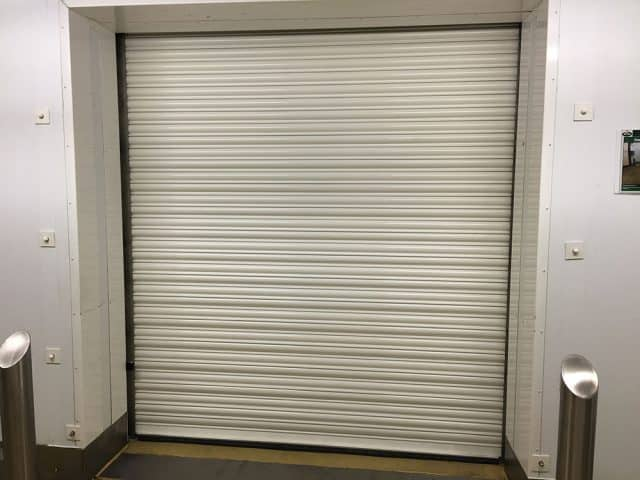 White Coloured Fire Shutter